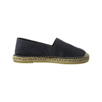 Pieces - Katie - Espadrillas in pelle - blu jeans