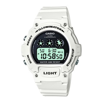 Casio - Sports - Montre digitale - blanc