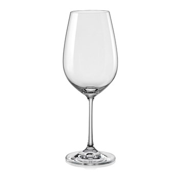 Aulica - Set de 6 verres à vin 350 ml - transparent