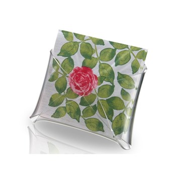 Aulica - Porte serviette droit - transparent