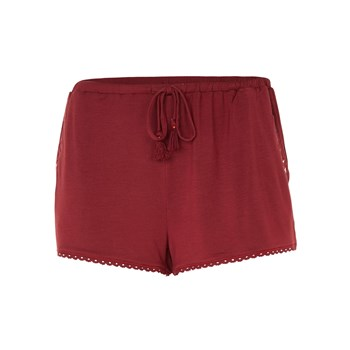 Undiz - Shorts - bordeauxrot
