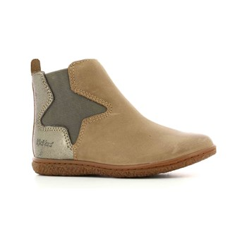 Kickers - Vermillon - Bottines en cuir - marron