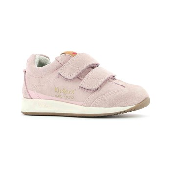 Kickers - KIck 18 - Baskets en cuir - rose