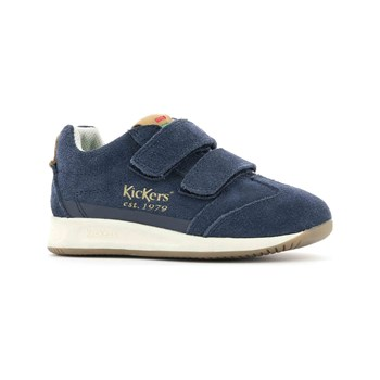 Kickers - KIck 18 - Sneakers in pelle - blu scuro