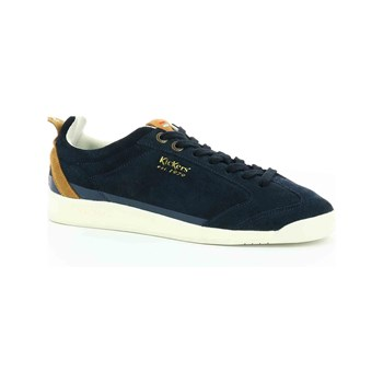 Kickers - Kick 18 - Baskets en cuir - bleu marine