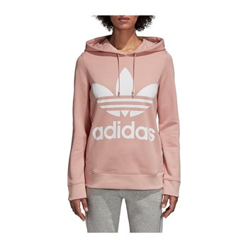 adidas Originals - Trefoil - Sweat à capuche - rose clair