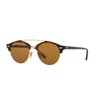 27bff88693cbf Ray Ban - Clubround double bridge - Lunettes de soleil - multicolore