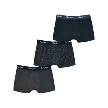 Pepe Jeans London - Caine - Lot de 3 boxers - noir