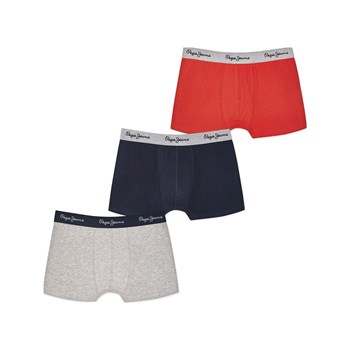 Pepe Jeans London - Trent - Lot de 3 boxers - multicolore