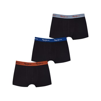 Pepe Jeans London - Wilkie - 3 boxer - nero