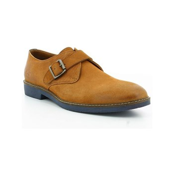 Kickers - Mayly - Leren derbies - camel