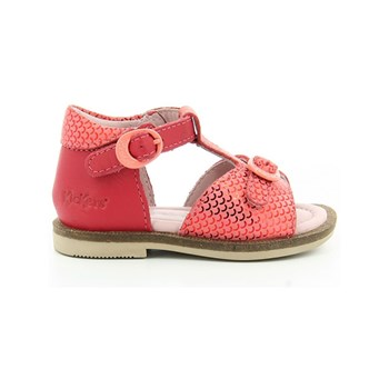 Kickers - Monette - Sandali in pelle - fucsia