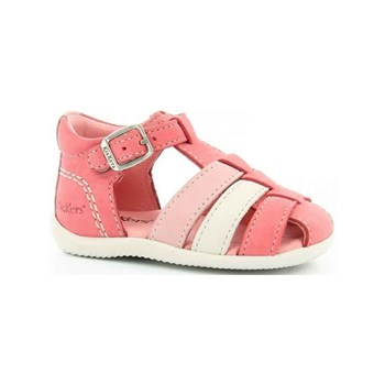 Kickers - Bigfly - Sandales en cuir - rose clair