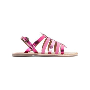Kickers - Dixmillion - Sandali in pelle - fucsia