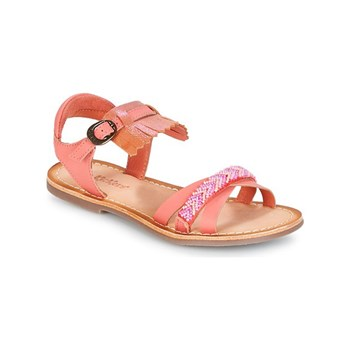 Kickers - Dixie - Sandali in pelle - rosa