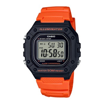 Casio - illuminator - Montre digitale - orange