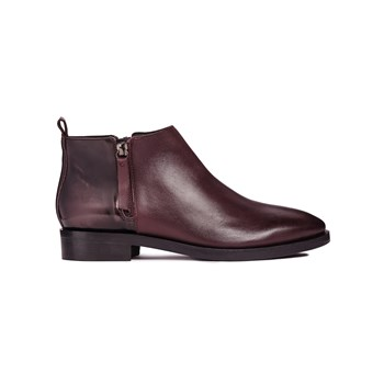 Geox - Donna Brogue F - Boots - bordeaux