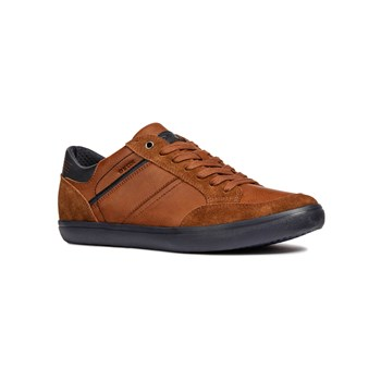 Geox - U Box F - Zapatillas - marrón claro
