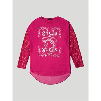 Guess Kids - T-shirt manches longues - rouge