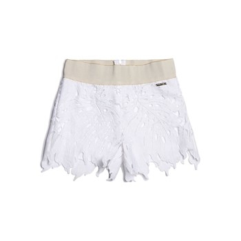 Guess Kids - Short avec broderies - blanc