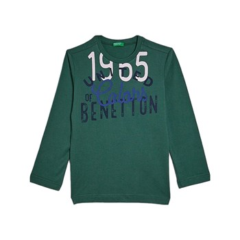 Benetton - Sweatshirt - groen