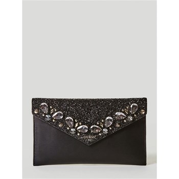 Guess - Summer Night City - Pochette avec applications - noir