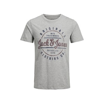 "Jack & Jones - ""T-shirt, korte mouw"" - grijs"