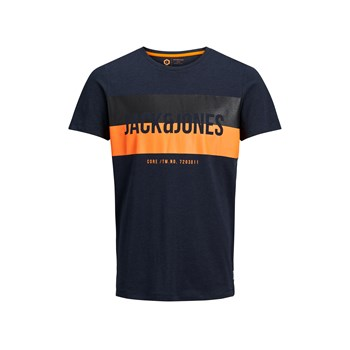 "Jack & Jones - ""T-shirt, korte mouw"" - marineblauw"