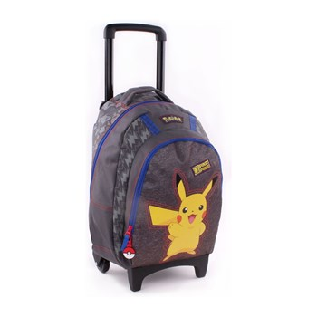 POKEMON - Pokemon pika pika - Mochila trolley - multicolor