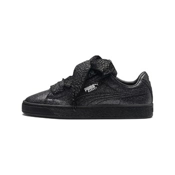 Puma - G jr heart holiday glam - Baskets - noir