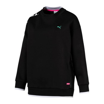 Puma - Chase crew - Sweat-shirt - noir