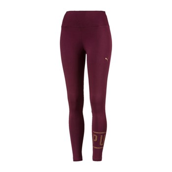Puma - Legging - bordeaux