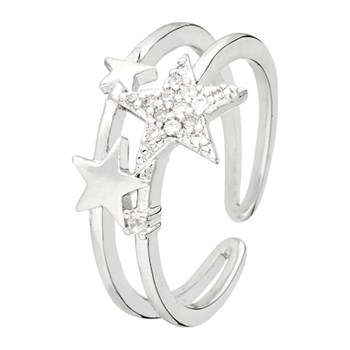 Crystal Seduction - Anello - argento