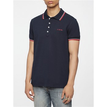 Diesel - Randy - Polo manches courtes - blu scuro