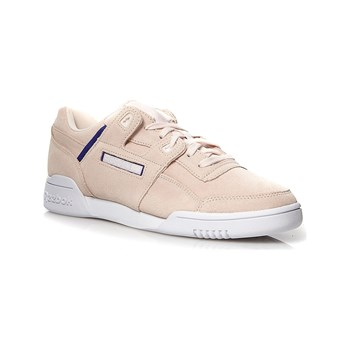 Reebok Classics - Workout Plus - Ledersneakers - cremefarben