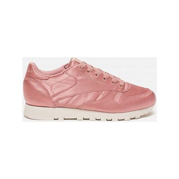 Reebok Classics - CL LTHR satin - Baskets Running - rose