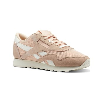 Reebok Classics - CL nylon mesh - Baskets en cuir - rose