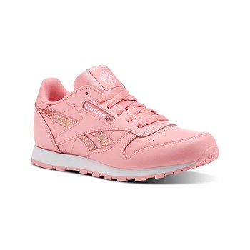 Reebok Classics - CL leather spring - Baskets en cuir - blanc