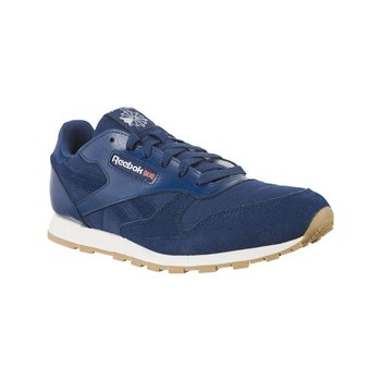 Reebok Classics - CL leather ESTL - Baskets Running - bleu