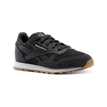 Reebok Classics - CL leather ESTL - Baskets en cuir - grenade