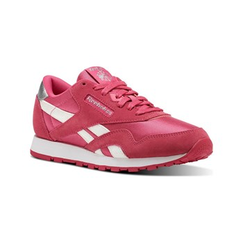 Reebok Classics - CL nylon - Baskets en cuir - rose