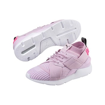 Puma - Muse - Baskets basses - rose clair