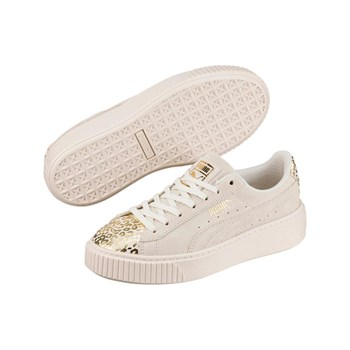 Puma - Jr S Platform Athluxe - Sneakers in pelle - bianco