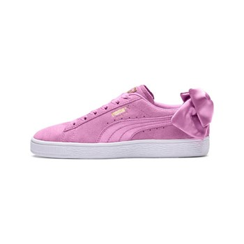 Puma - Suede Bow - Ledersneakers - rosa