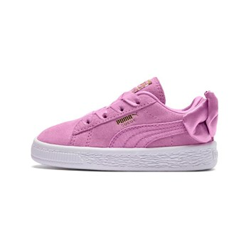 Puma - Suede Bow A - Baskets en cuir - rose