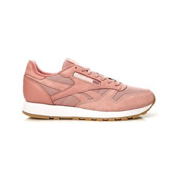 Reebok Classics - Classic Leather - Baskets avec empiècements cuir - rose
