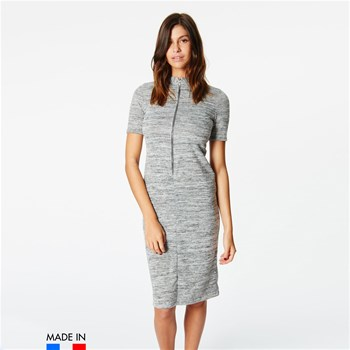 BrandAlley La Collection - Riva - Vestido medio-largo - gris