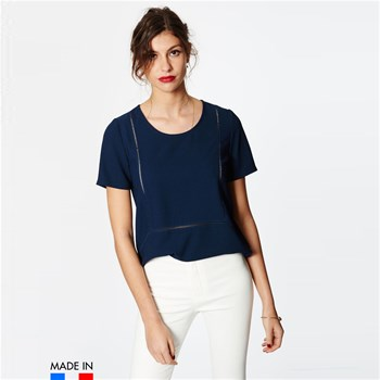 BrandAlley La Collection - Astrid - Top - azul marino