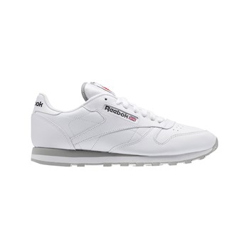 Reebok Classics - CL LEATHER - Baskets en cuir - blanc