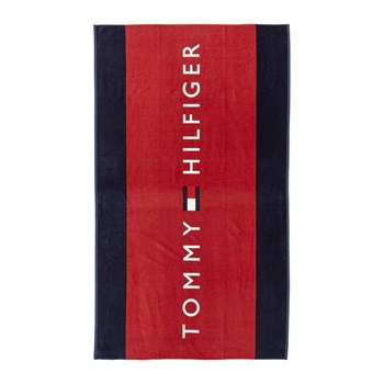 Tommy Hilfiger - Badehandtuch - rot